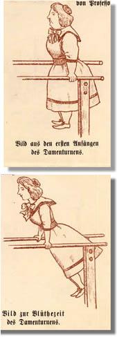 Damenturnen seit 1896