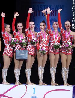 WM Rhythmische Gymnastik Stuttgart 2015   GYMmedia com